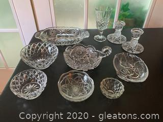 Vintage Collection of Cut Glass