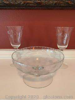 Vintage Heisey Glass Collection