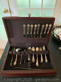 Westmorland Sterling Silver Flatware with Case