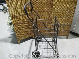 Fold Up Rolling Cart