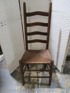 Ladder Back Cane Chair