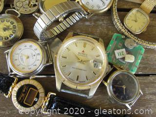 Non-Working Broken Watches / Faces