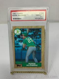 1987 Topps #366 Mark McGwire