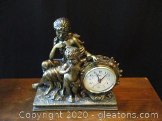 Crosa Quarte Clock – Mother and Child