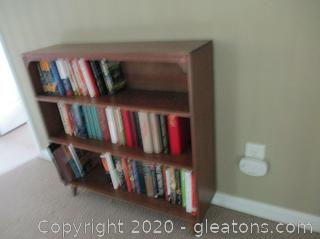 Vintage Style Bookshelf Books Not Included