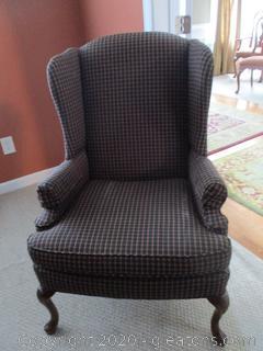 Queen Anne Chair A