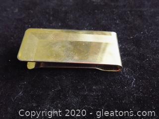 10k Gold Money Clip B