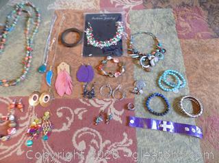 Costume Jewelry Lot D