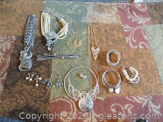 Costume Jewelry Lot A