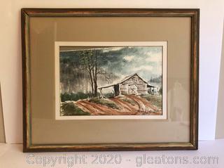 John Kollock Orignal Watercolor