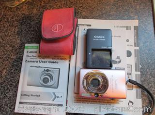 Canon Power Shot SD11OS Digital Camera