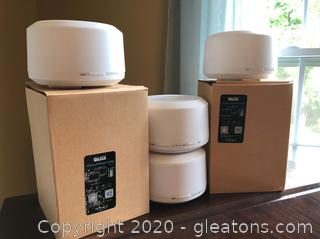Four Brand New Baxia Aroma Diffuser Lamps