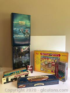 Game and Elite Force Doll Lot