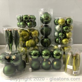 Christmas Bulbs Lot 8 Packs #C