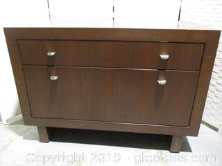 2 Drawer Office File Cabinet