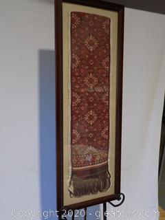 Rare Framed Bali Textile B
