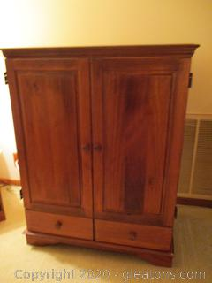 Wooden Entertainment Center