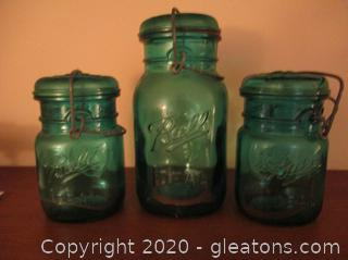 Set of 3 Ball Ideal Eagle Jar