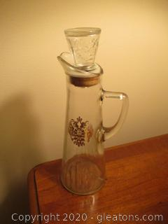 Vintage Wine Decanter with Stopper
