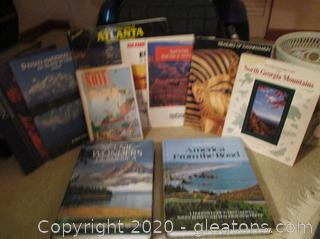 Book Lot B-Travel Books