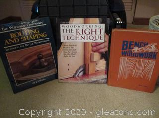 Book Lot C- Woodworking