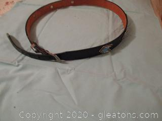 Woman's Nacona Western Leather Belt