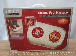 Homedics Shiatsu Foot Massager W/Heat