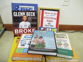 Book Lot L – Misc/Money Saving