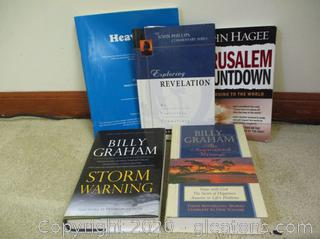 Book Lot M- Billy Graham and More