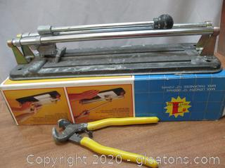 "12"" Professional Tile Cutter"