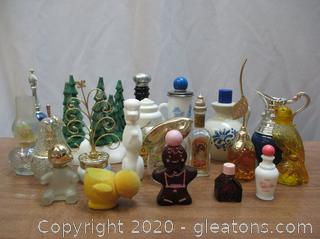 Vintage Avon Bottle Lot A
