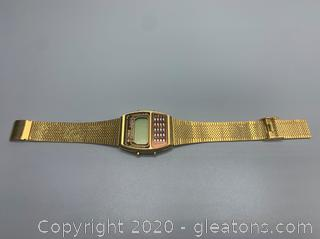 1981 Megasonic Chronolator Wrist Watch