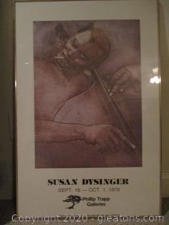 Susan Dysinger Trapp Galleries Framed Poster