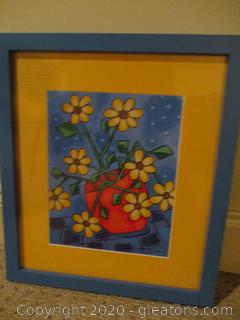 Yellow Daisies Framed Art