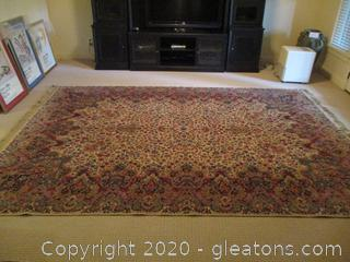 Large Hand – Tied Oriental Carpet/Area Rug