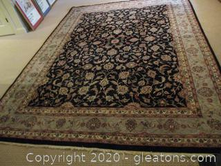 Large Hand Tied Oriented Carpet/Area Rug