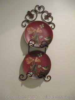 Plate Hanger Wall Decor