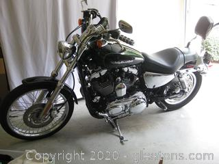 2006 Harley Davidson 1200XLC Sportster Motorcycle