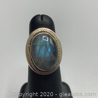 Sterling Labradorite Ring