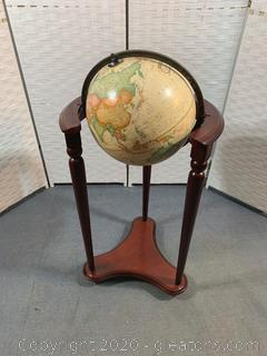 Antique Floor Globe by George F. Cran Co.