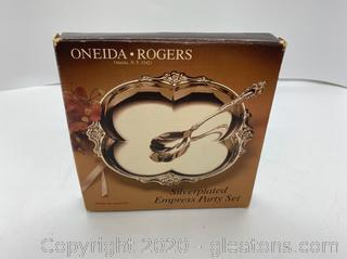 Oneida Rogers Silverplate Empress Party Set