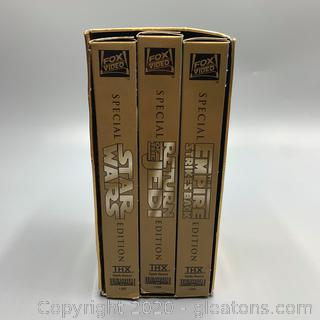 Special Edition 1997 Star Wars Trilogy VHS Box Set