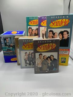 Seinfield Box Sets and DVD Gift Set