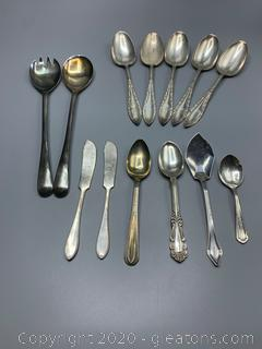 Assorted Silver Ware
