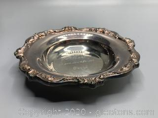 Vintage OId Englsh By Pool Candy Bowl