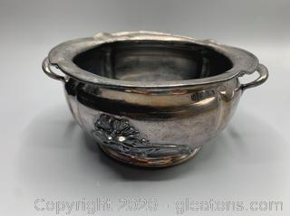 Victor Silver Company Double Handle Pot