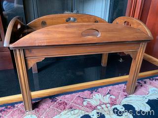 Thomasville Butler's Tray  Table