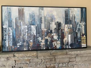 Contemporary Large Accent Art