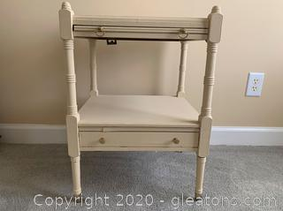 Transitional Side Table A