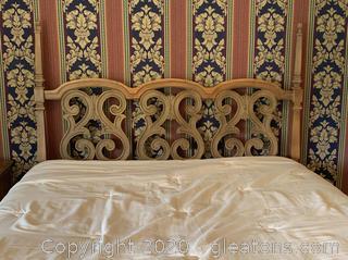Mid Century Queen Bed